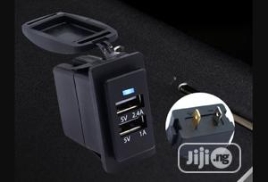 Dual Port Car USB Charger Socket Port | Accessories for Mobile Phones & Tablets for sale in Lagos State, Ikeja