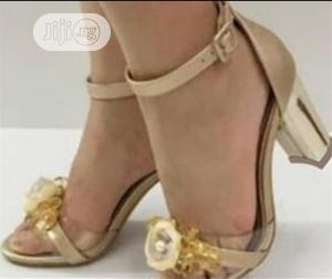 Golden Heel Shoe | Shoes for sale in Lagos State, Apapa