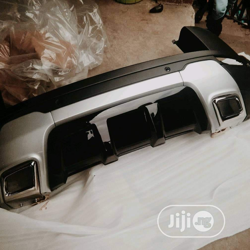 Ranger Rover Bumper and Grie