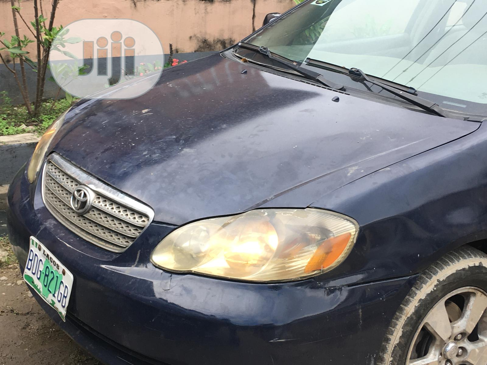 Toyota Corolla 2003 Blue In Surulere Cars Abdul Jiji Ng For Sale In Surulere Buy Cars From Abdul On Jiji Ng