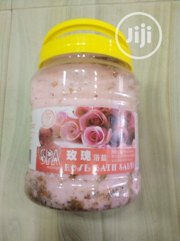 Rose Bath Sea Salt | Bath & Body for sale in Amuwo-Odofin, Lagos State, Nigeria