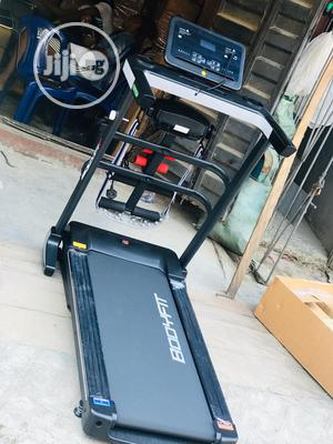 Bodyfit 2.5hp Treadmill With Massager Mp3 Dumbbell   Sports Equipment for sale in Lagos State, Eko Atlantic