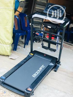 2.5hp Body Fit Treadmill With Massager and Dumbbell   Sports Equipment for sale in Lagos State, Ikoyi