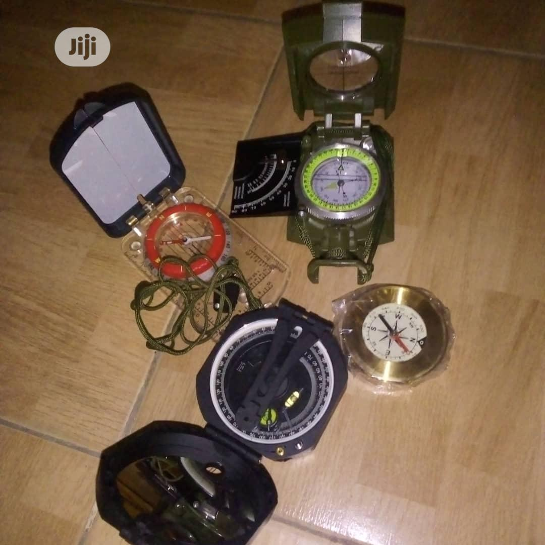 Compass Of Different Types