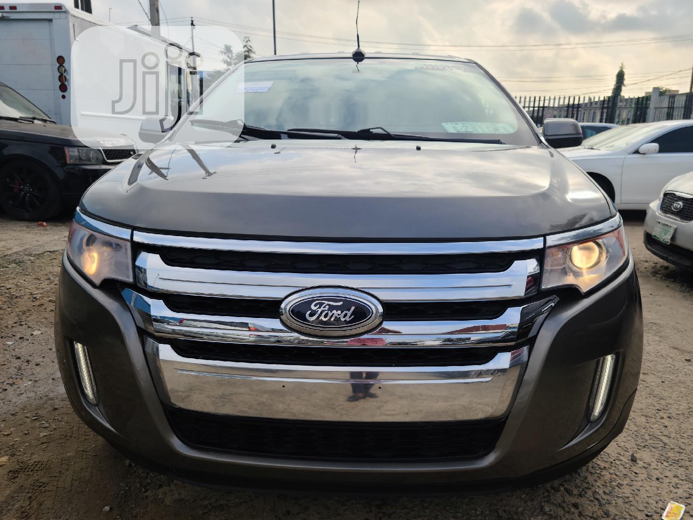 Ford Edge 2013 Brown