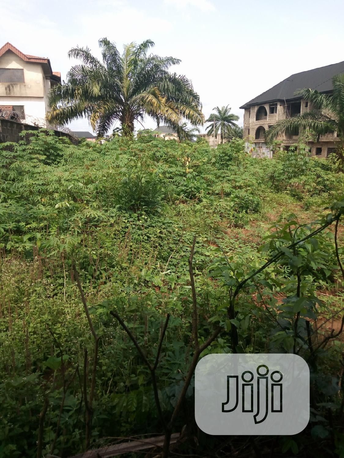 A Plot Of Land For Lease Or Rent...At Irete In Owerri West..