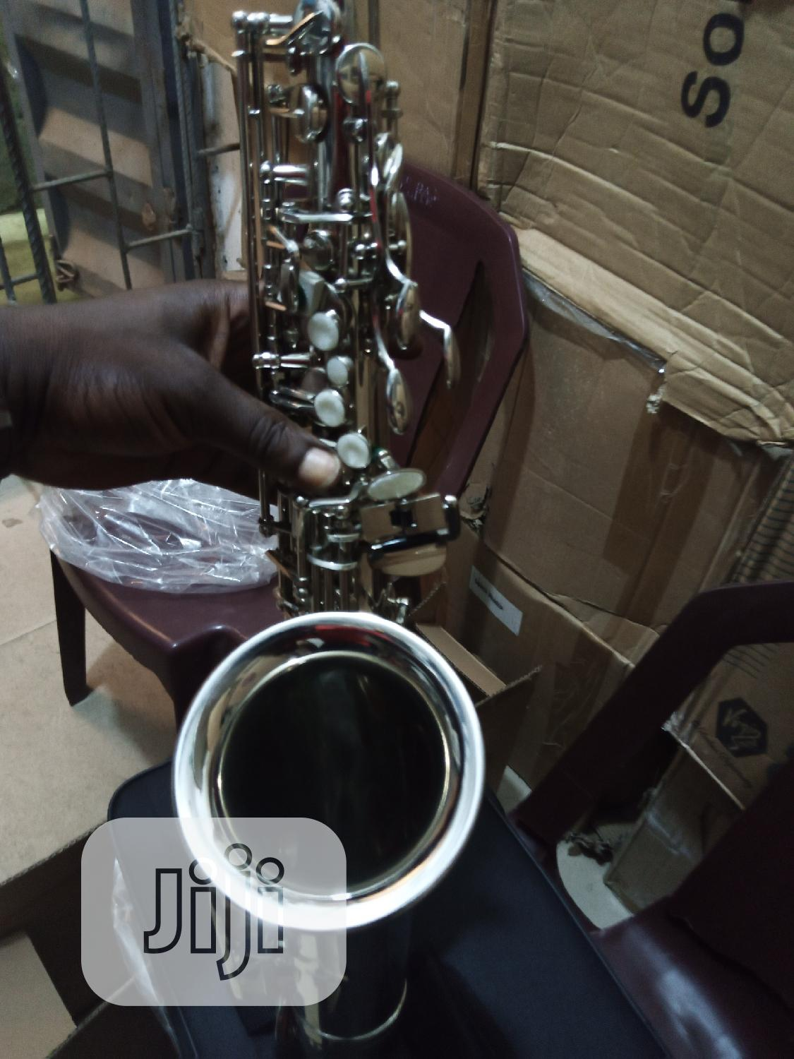 Professional Yamaha Silver Saxophone | Musical Instruments & Gear for sale in Ikeja, Lagos State, Nigeria