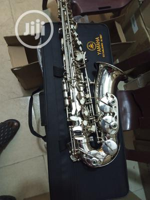 Professional Yamaha Silver Saxophone   Musical Instruments & Gear for sale in Lagos State, Ikeja