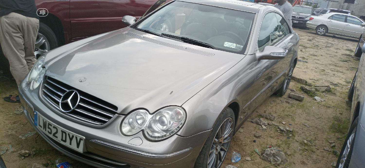 Mercedes-Benz CLK 2005 Gray | Cars for sale in Port-Harcourt, Rivers State, Nigeria