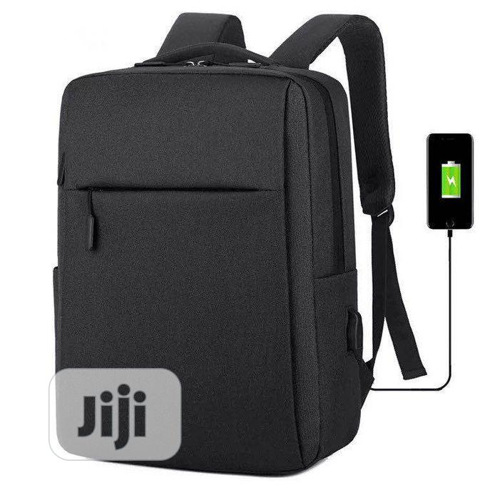 Anti Theft Backpack With USB Charging Port -O14
