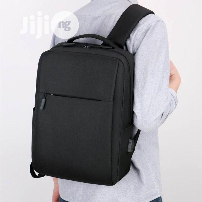 Anti Theft Backpack With USB Charging Port -O14 | Bags for sale in Alimosho, Lagos State, Nigeria