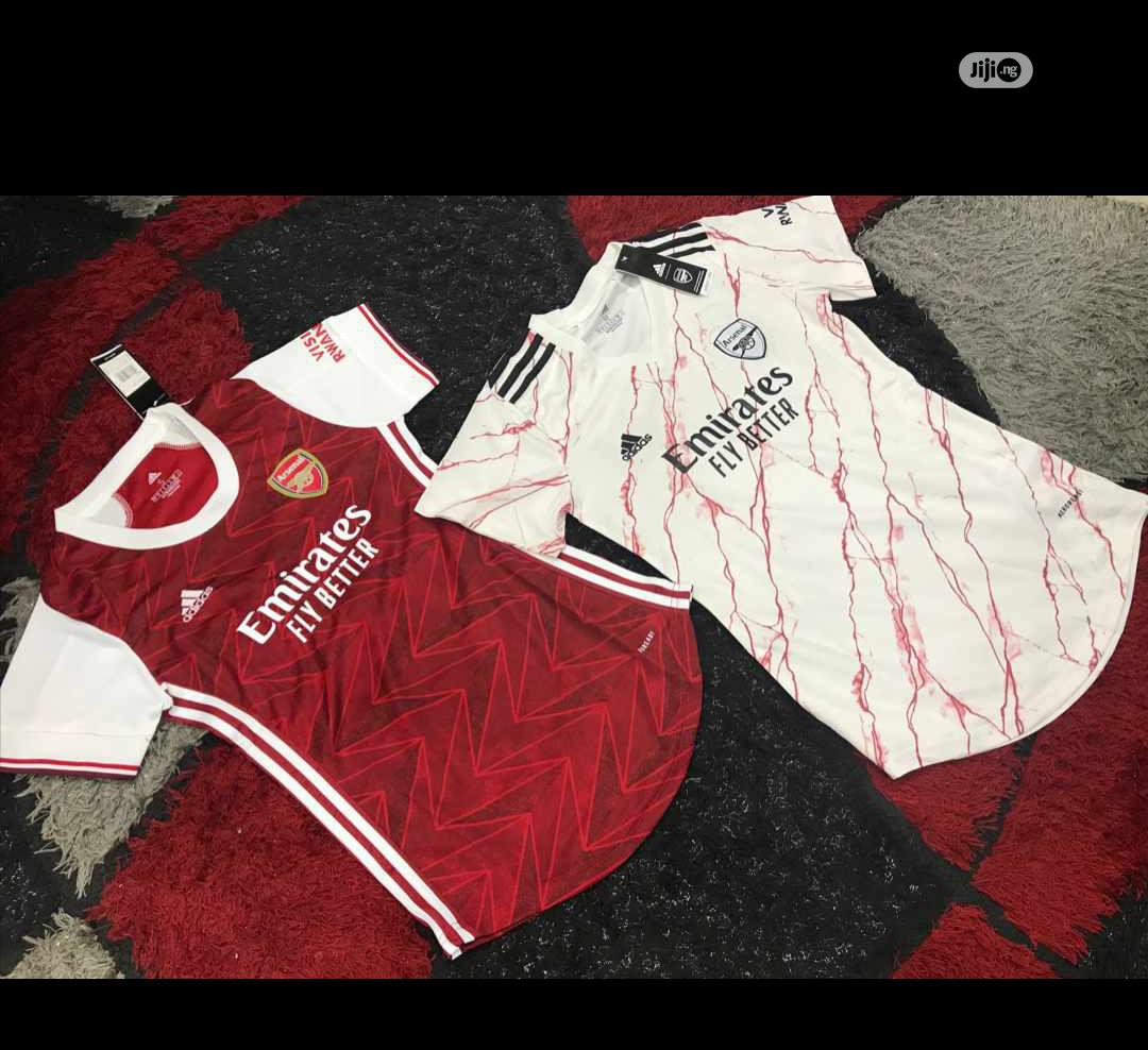 Arsenal Official 20/21 Female Home Away Jerseys | Clothing for sale in Surulere, Lagos State, Nigeria