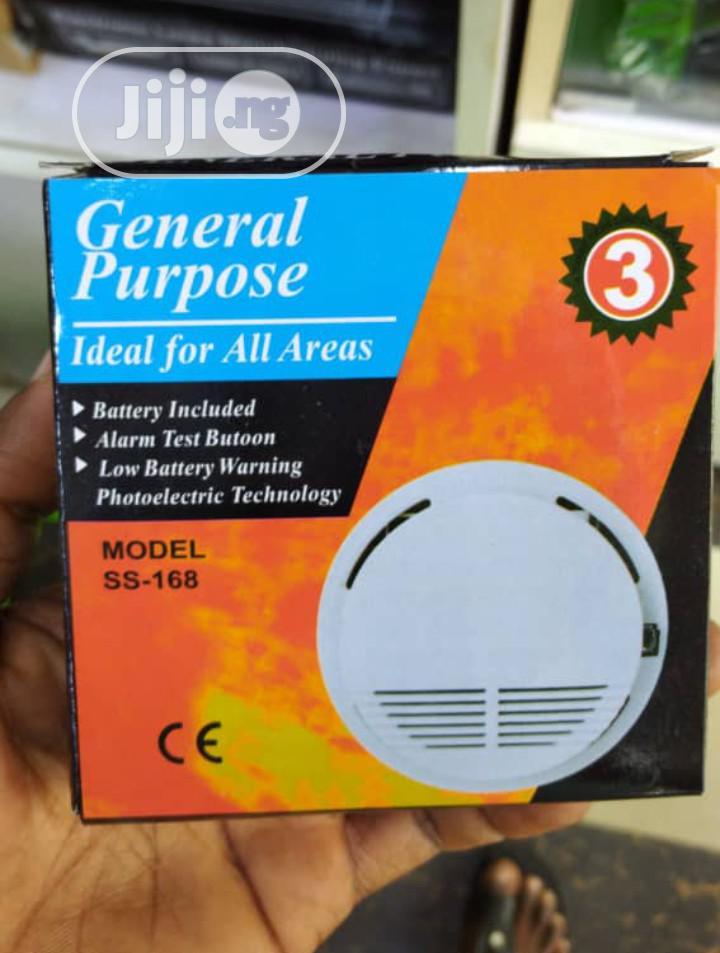 High Sensitive Battery Operated Photoelectric Smoke Alarm.
