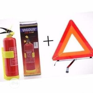 Fire Extinguisher And C-caution Sign | Safetywear & Equipment for sale in Lagos State, Agege