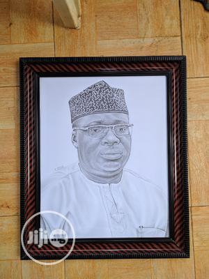 Nice Pencil Portrait (Artwork)   Arts & Crafts for sale in Lagos State, Agboyi/Ketu