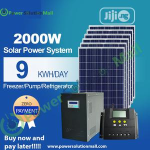 2000w SOLAR Installation (With Pay Later Option) | Solar Energy for sale in Lagos State, Ajah