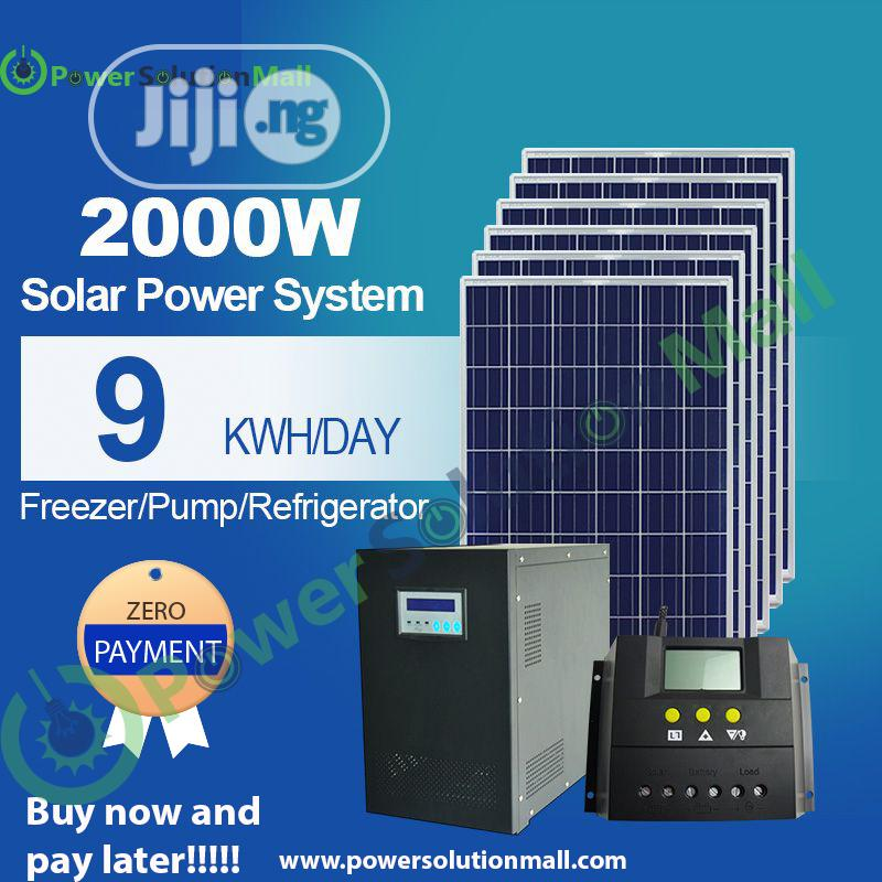 2000w SOLAR Installation (With Pay Later Option)