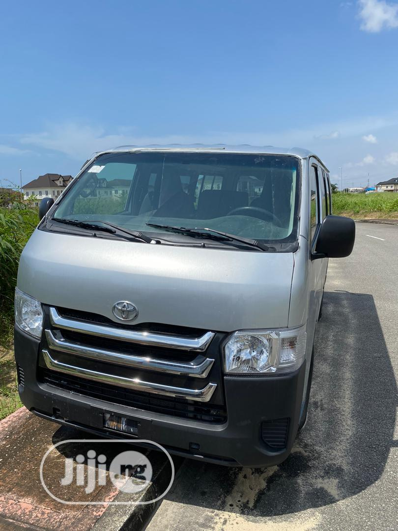Toyota Hiace 2013 Silver | Buses & Microbuses for sale in Ikotun/Igando, Lagos State, Nigeria