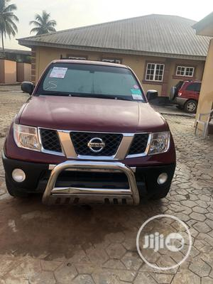 Nissan Frontier 2007 Crew Cab SE Red | Cars for sale in Lagos State, Gbagada