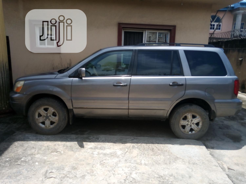Honda Pilot 2005 EX 4x4 (3.5L 6cyl 5A) Gray | Cars for sale in Amuwo-Odofin, Lagos State, Nigeria