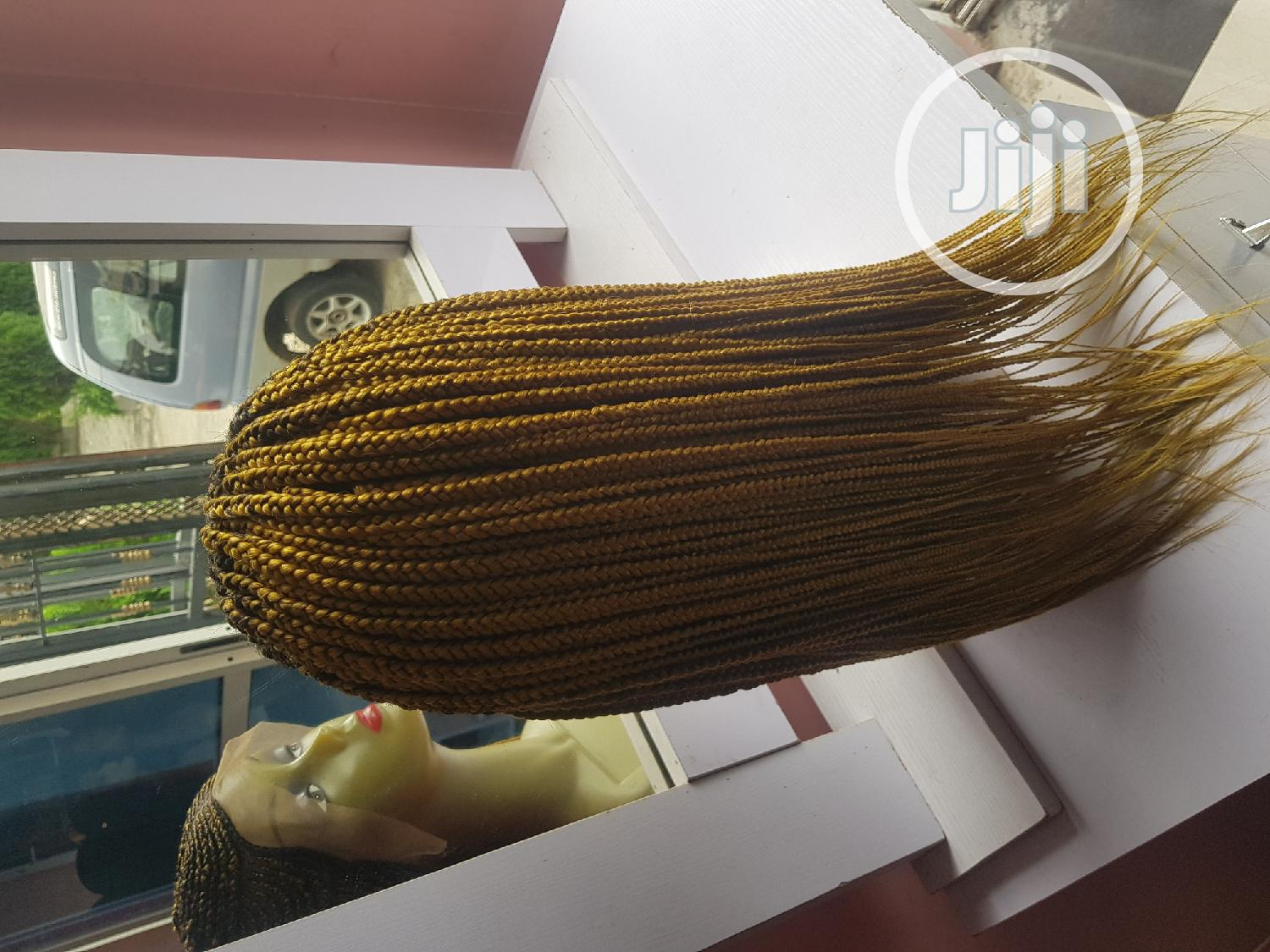 Ghana Weaving With Frontal | Hair Beauty for sale in Lekki, Lagos State, Nigeria