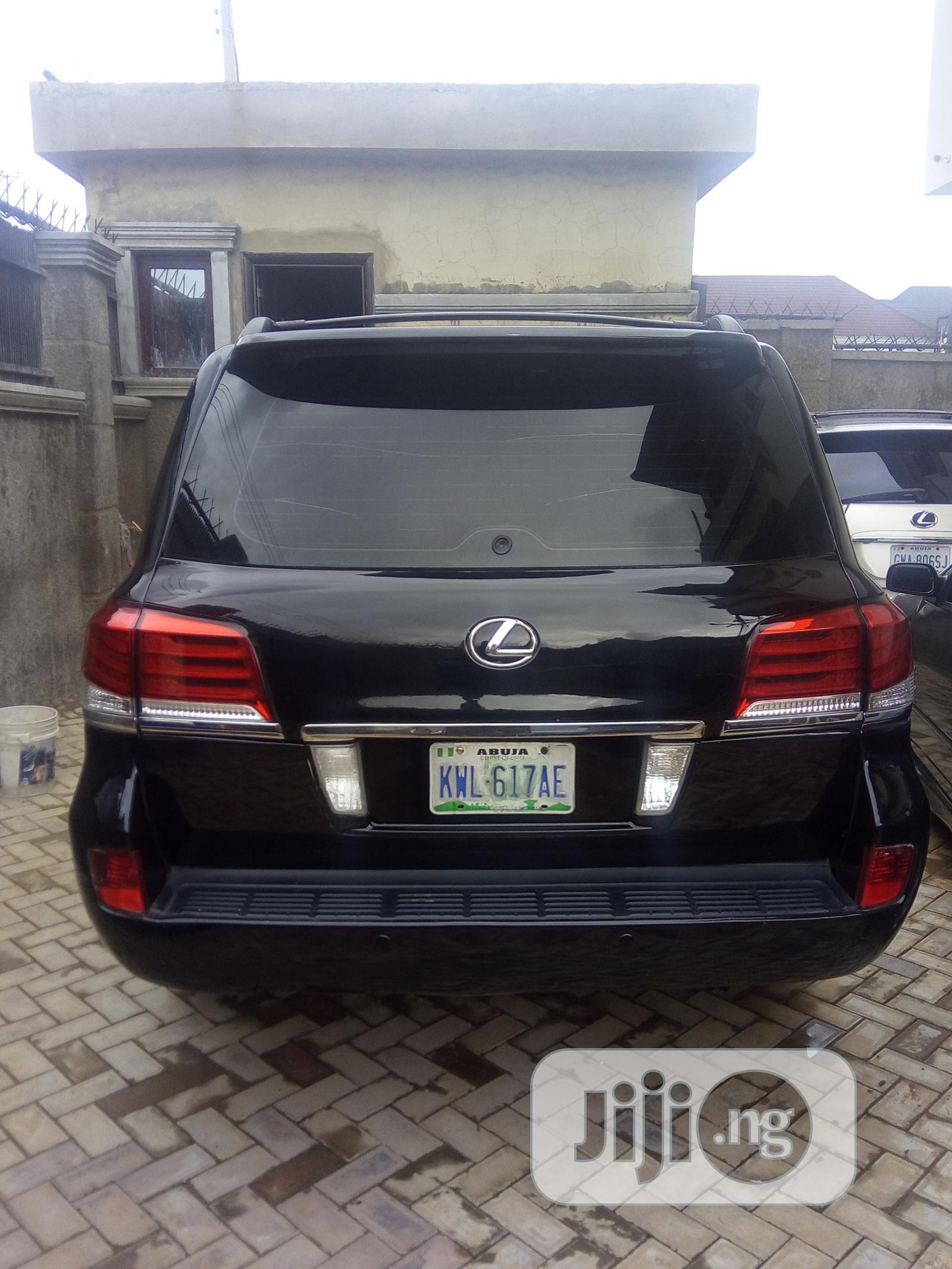 Lexus LX 570 2015 Black | Cars for sale in Gudu, Abuja (FCT) State, Nigeria