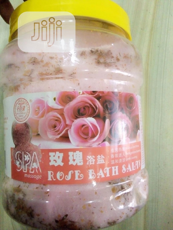 Rose Bath Sea Salt