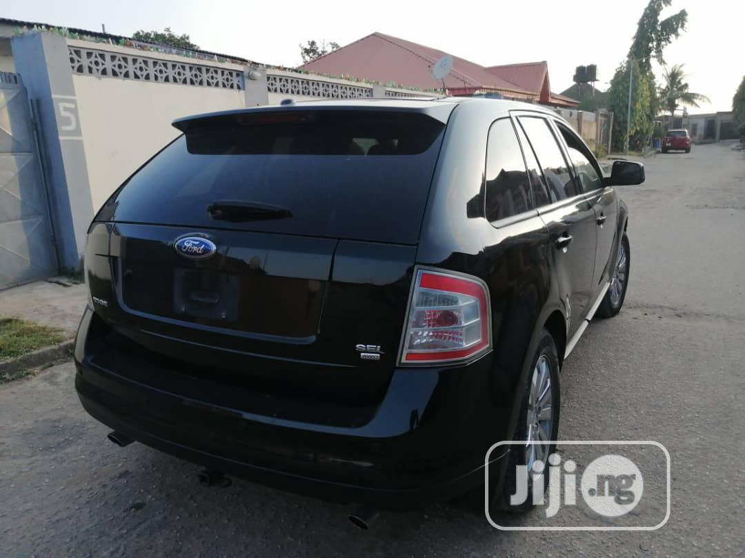 Ford Edge 2008 SE 4dr FWD (3.5L 6cyl 6A) Black | Cars for sale in Amuwo-Odofin, Lagos State, Nigeria