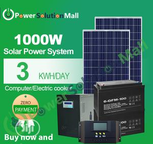 1000w SOLAR Installation (With Pay Later Option) | Solar Energy for sale in Lagos State, Ajah