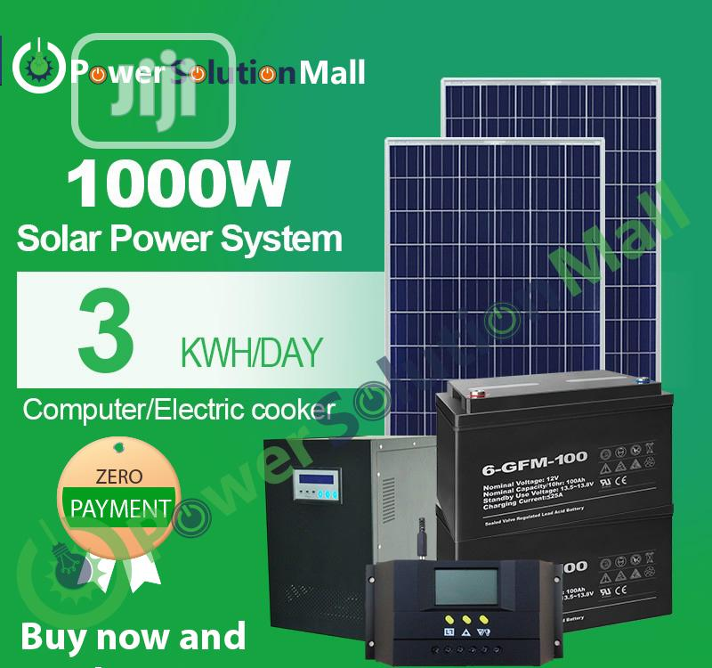 1000w SOLAR Installation (With Pay Later Option)