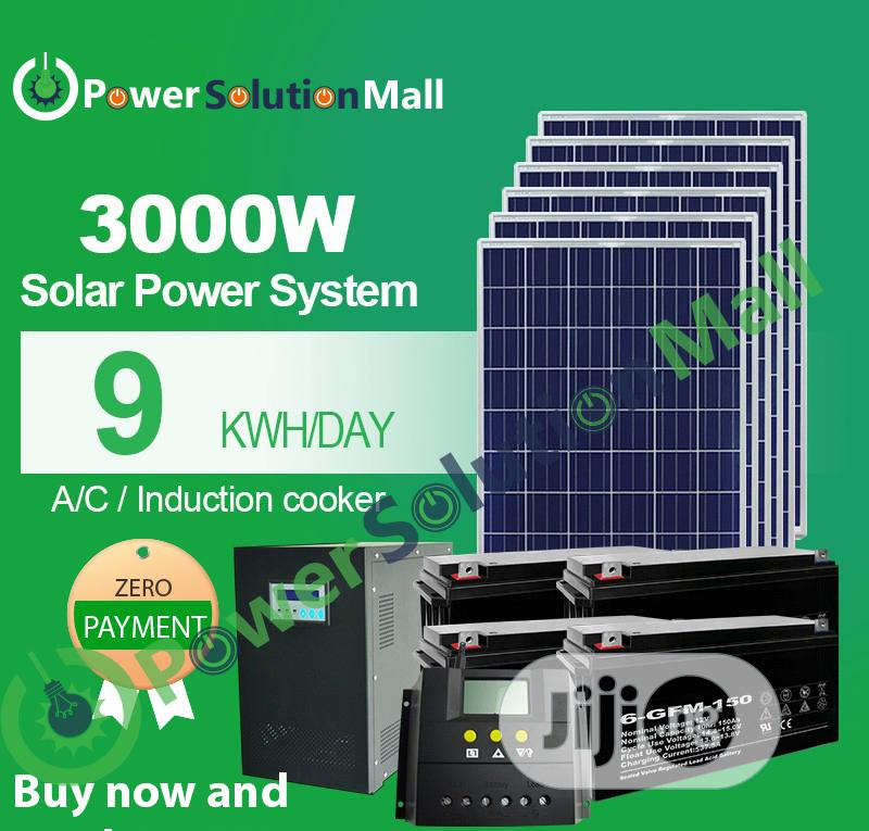 3000w SOLAR Solution Installation (With Pay Later Option)