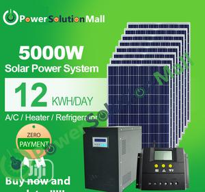 5kva SOLAR Installation (With Pay Later Option) | Solar Energy for sale in Lagos State, Ikeja