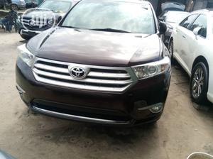 Toyota Highlander 2013 Limited 3.5l 4WD Purple   Cars for sale in Lagos State, Apapa