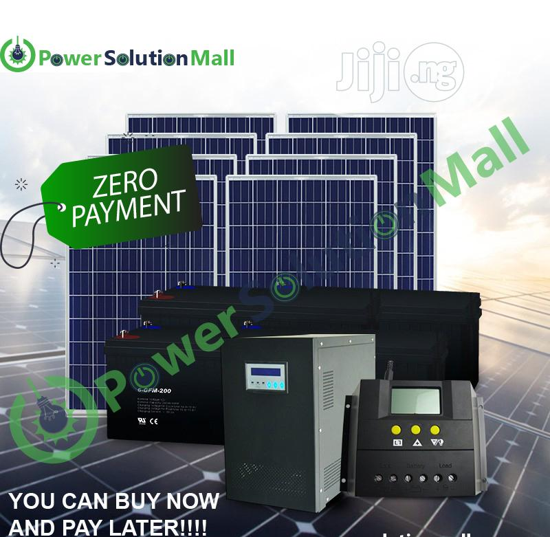 7.5kva SOLAR Solution Installation (With Pay Later Option)
