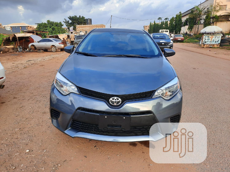 Toyota Corolla 2016 Gray