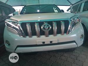 Toyota Land Cruiser Prado 2015 VX White | Cars for sale in Lagos State, Amuwo-Odofin