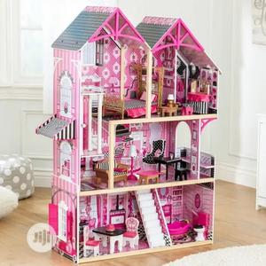 Barbie Dool House With One Free Barbie Doll   Toys for sale in Lagos State, Ajah