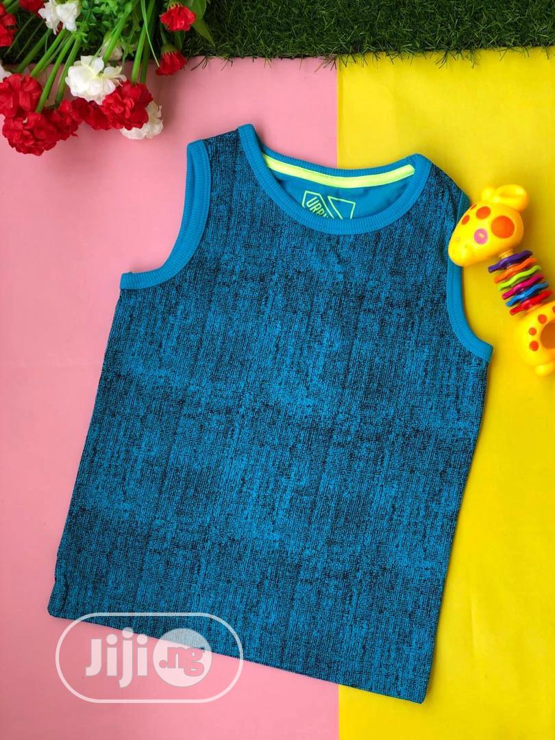 Boys Sleeveless Singlets | Children's Clothing for sale in Ajah, Lagos State, Nigeria