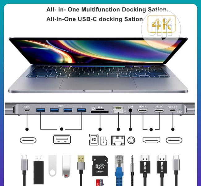 Onten All In One Usb-c Multi Functional Docking Station | Computer Accessories  for sale in Port-Harcourt, Rivers State, Nigeria