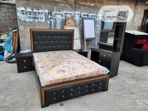 4 by 6 Bed Frame With Imported Mattress   Furniture for sale in Lagos State, Ojo