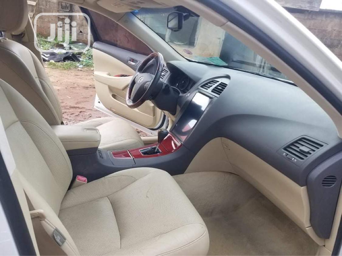 Lexus ES 2008 350 White | Cars for sale in Benin City, Edo State, Nigeria