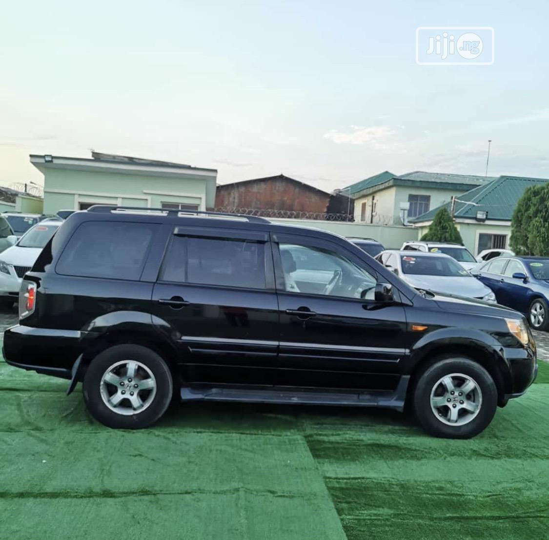 Honda Pilot 2008 EX-L 4x4 (3.5L 6cyl 5A) Black   Cars for sale in Lekki, Lagos State, Nigeria