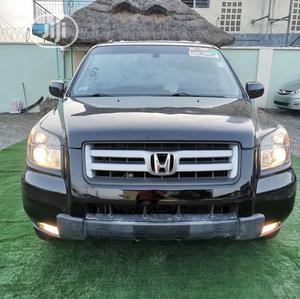 Honda Pilot 2008 EX-L 4x4 (3.5L 6cyl 5A) Black | Cars for sale in Lagos State, Lekki