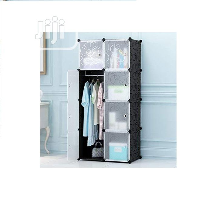 6 Cube Portable Multifunctional Diy Wardrobe O15
