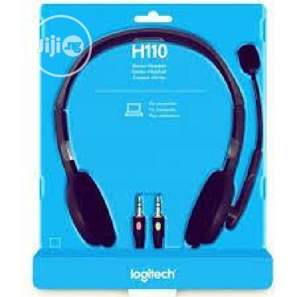 Archive: Logitech H110 Stereo Headset