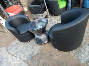 Super Quality Set Of Mini Sofa Bucket Chairs With Table   Furniture for sale in Abuja (FCT) State, Central Business Dis