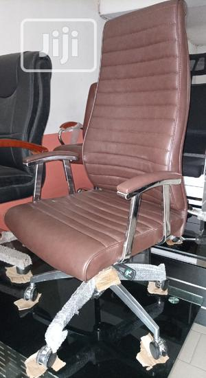 Super Quality Brown Executive Office Swivel Chair | Furniture for sale in Lagos State, Ojo