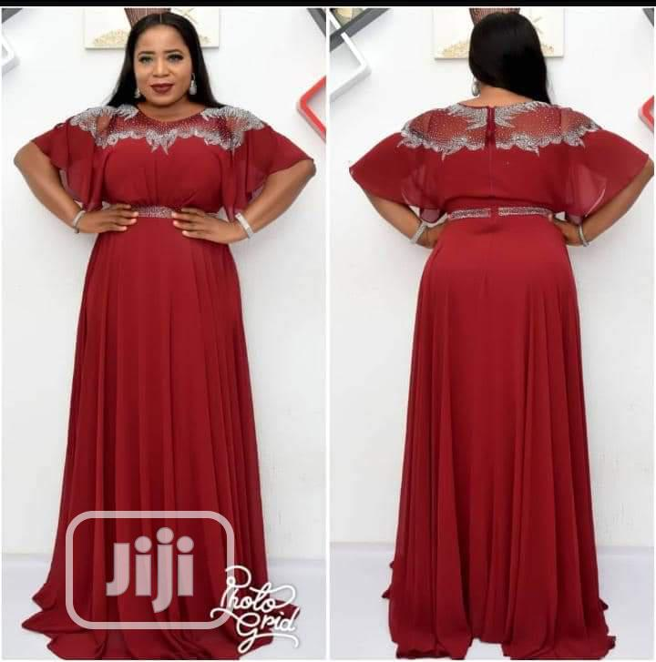 Lovely Ceremonial Long Dress Turkey Brand | Clothing for sale in Amuwo-Odofin, Lagos State, Nigeria