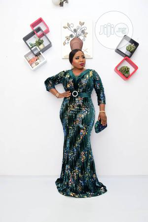 New Female Quality Turkey Long Green Dress | Clothing for sale in Lagos State, Lagos Island (Eko)