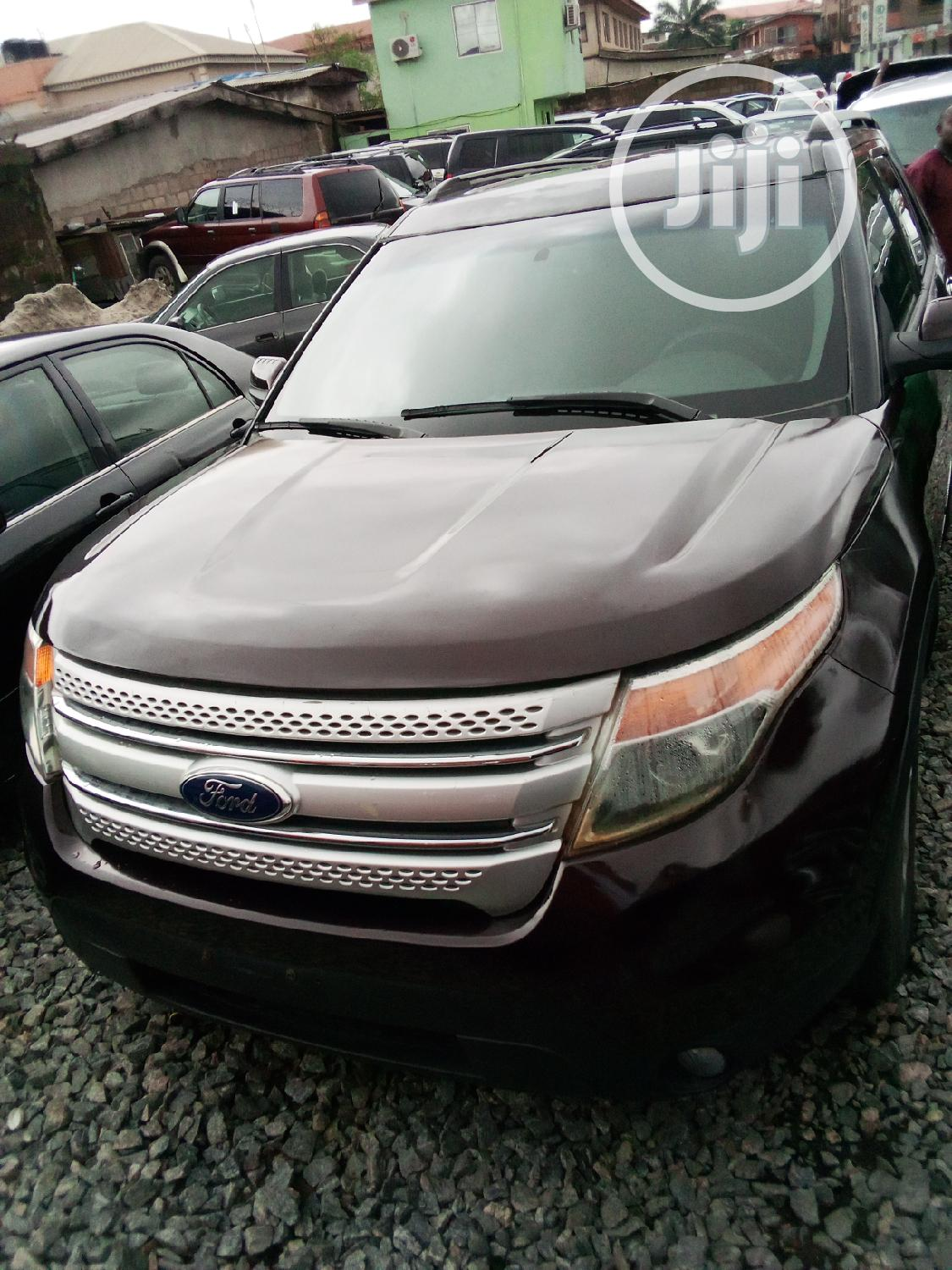 Archive: Ford Explorer 2011